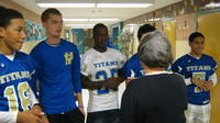 Palo Verde Football Titans visited an elementary and read to the students September 21, 2011.  Nice Job Titans!