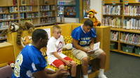 Palo Verde Football Titans visited an elementary and read to the students September 21, 2011. Nice Job Titans! Way to be 212!