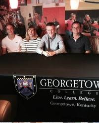 Lucas signs with Georgetown College 2015